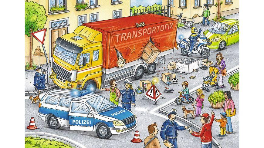 Ravensburger Puzzle Helden im Einsatz 2x24 Teile