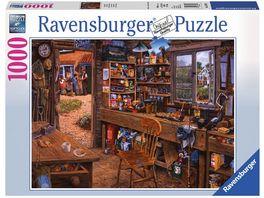 Ravensburger Puzzle Opas Schuppen 1000 Teile
