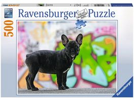 Ravensburger Puzzle Franzoesische Bulldogge 500 Teile