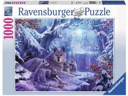 Ravensburger Puzzle Winterwoelfe 1000 Teile