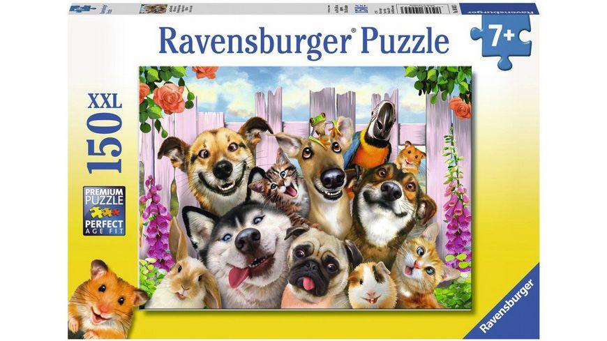 Ravensburger Puzzle Lustiges Tierselfie 150 Teile XXL