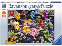 Ravensburger Puzzle Gelini beim Puzzlen 500 Teile