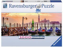 Ravensburger Puzzle Gondeln in Venedig 1000 Teile