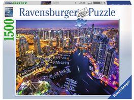 Ravensburger Puzzle Dubai am Persischen Golf 1500 Teile