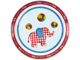 Die Spiegelburg Melamin Teller Elefant BabyGlueck