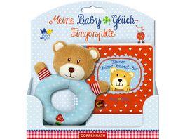 Coppenrath Verlag Meine BabyGlueck Fingersp Kleiner Kribbel Krabbel Baer Set