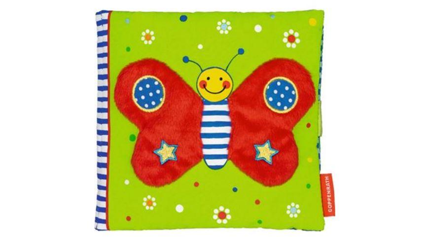 Coppenrath Verlag Mein kuschelweiches Spielbuch Kleiner Schmetterling