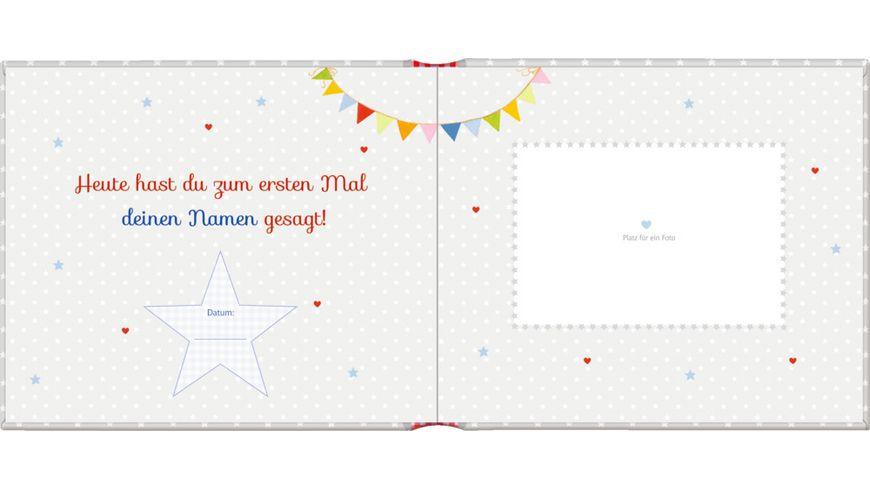 Coppenrath Verlag Eintragalbum Papperlapapp Deine ersten Woerter BabyGlueck