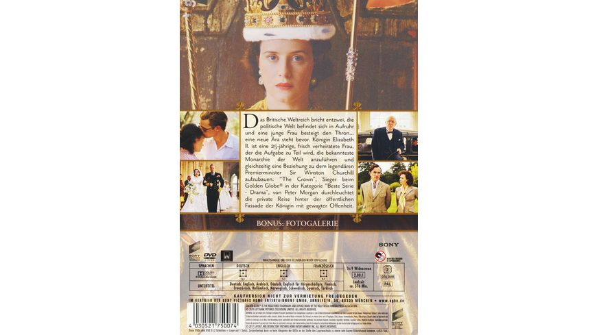 The Crown Die komplette erste Season 4 DVDs
