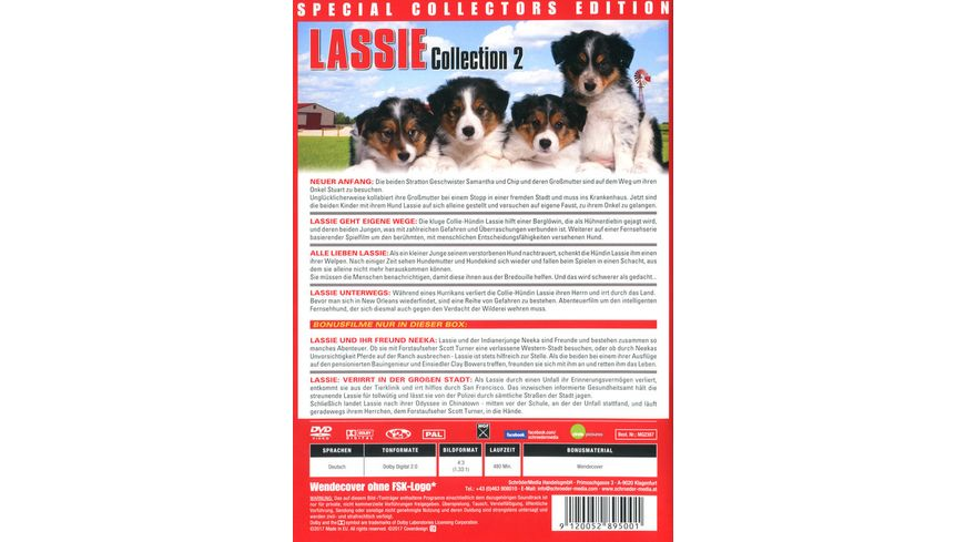 Lassie Collection 2 2 DVDs