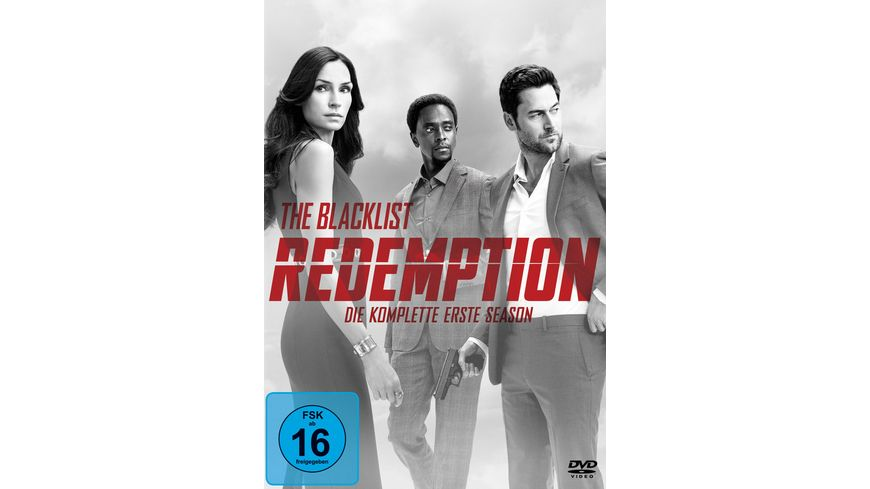 The Blacklist Redemption Die komplette erste Season 2 DVDs