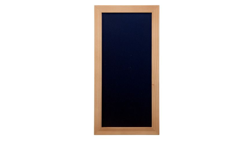 Securit Wandtafel 20X40 Teak inkl 1 Stift