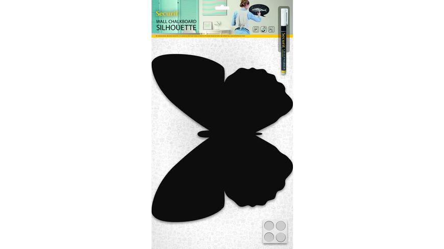 Securit Kreidetafel Schmetterling inkl 1 Stift