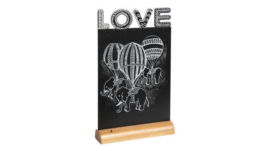 Securit Kreidetafel Love inkl 1 Stift