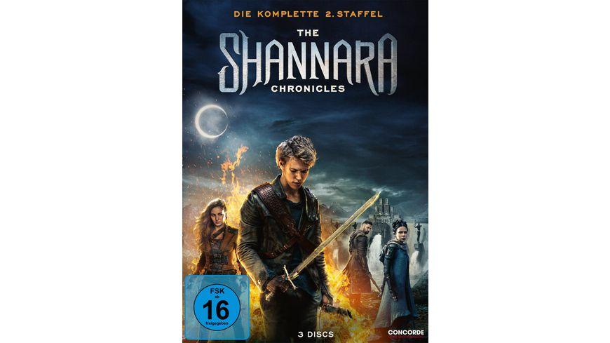The Shannara Chronicles Die komplette 2 Staffel 3 DVDs