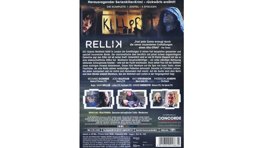 Rellik Die komplette 1 Staffel 2 DVDs