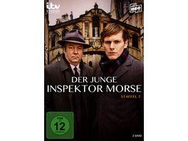 Der junge Inspektor Morse Staffel 2 2 DVDs