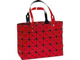 Handtasche Shopper rot