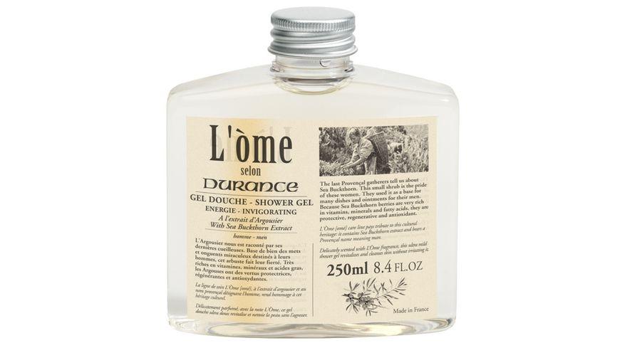 DURANCE L Ome Duschgel Shampoo wilder Sanddorn