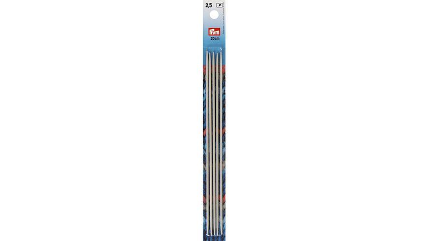 Prym Strumpfstricknadeln 20cm Staerke 2 5