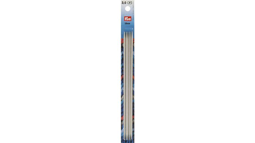 Prym Strumpfstricknadeln 20cm Staerke 3