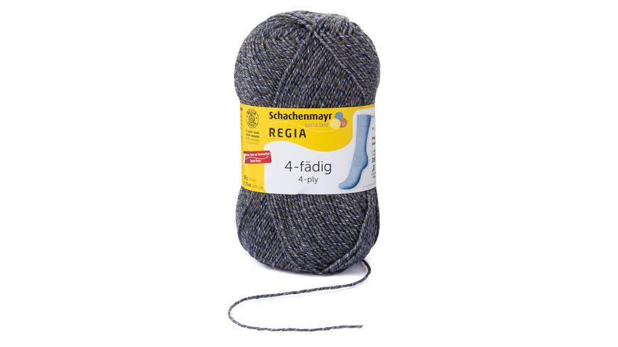 Schachenmayr Sockenwolle REGIA 4 faedig Unifarben 50g