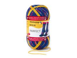 Schachenmayr Sockenwolle REGIA PAIRFECT 4 faedig Color 100g