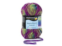 Schachenmayr Filzwolle Wash Filz it Multicolor 50g
