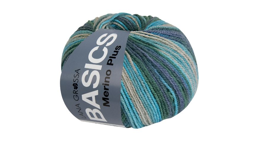 Lana Grossa Basic Merino Plus Print 50g
