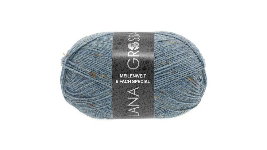 Lana Grossa Meilenweit 6 F 50g Tweed