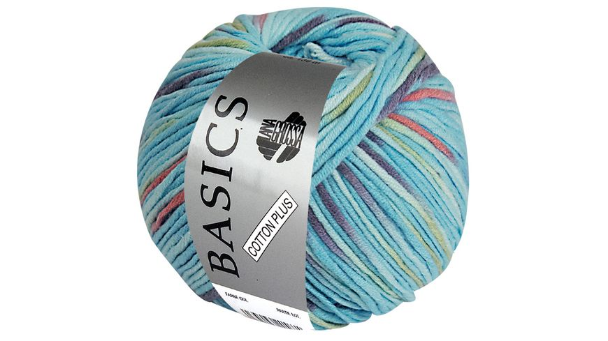 Lana Grossa Basic Cotton Plus Print 50g