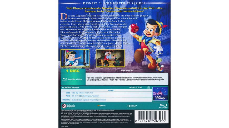 Pinocchio Disney Classics 2