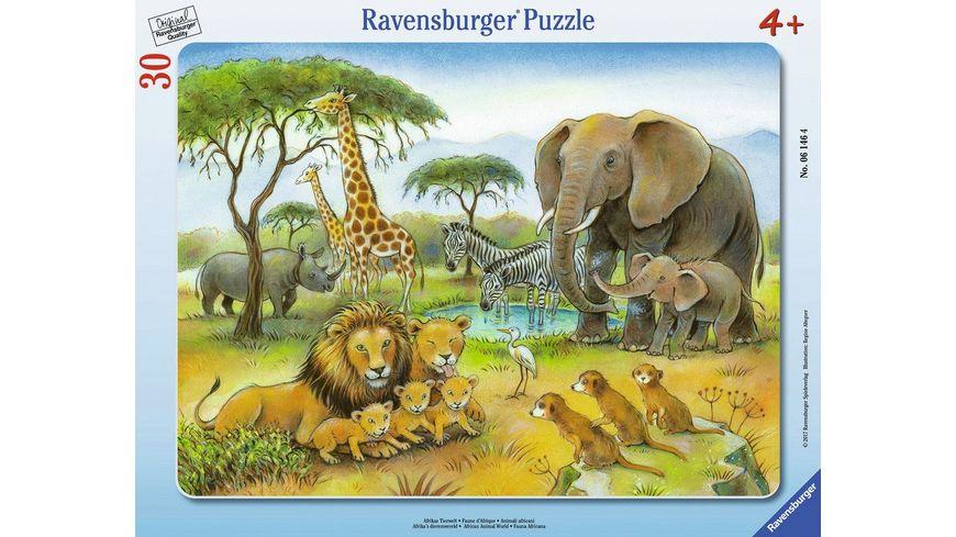 Ravensburger Puzzle Afrikas Tierwelt 30 Teile
