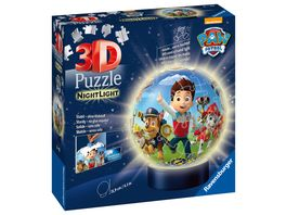 Ravensburger Puzzle 3D Puzzle Ball Nachtlicht Paw Patrol
