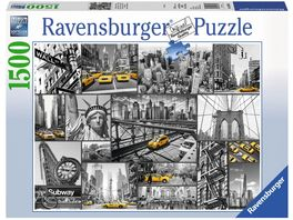 Ravensburger Puzzle Farbtupfer in New York 1500 Teile