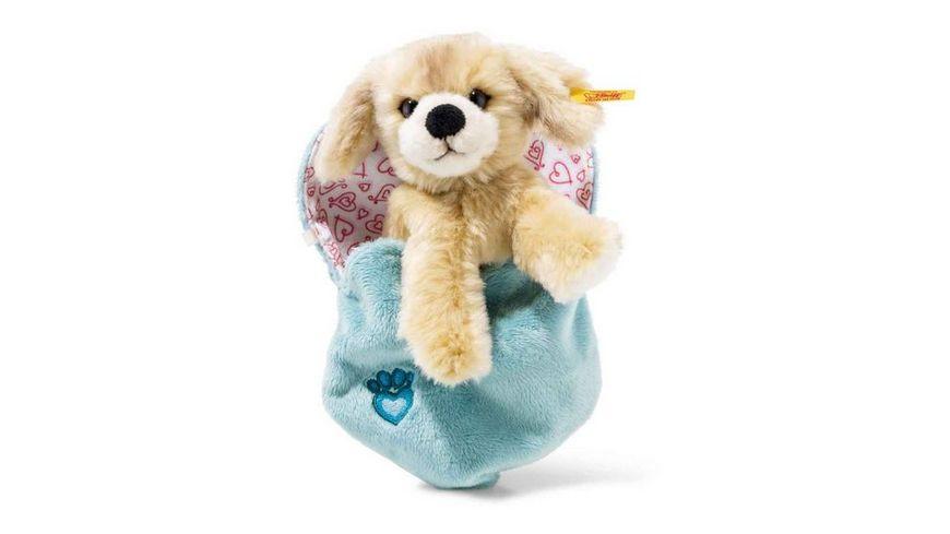 Steiff Kelly Hund im Herzbeutel 15 cm