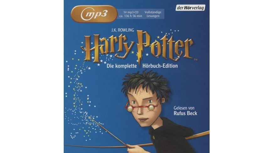 Harry Potter MP3 Ausgabe Die Komplette Hoerbuch Ed
