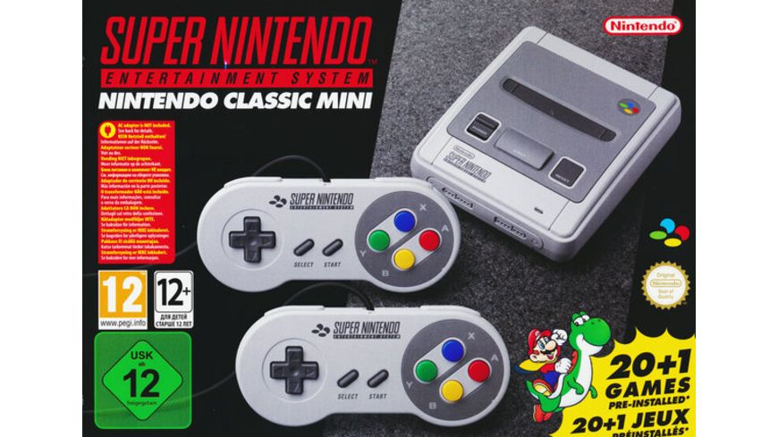 Super NES Classic Mini Konsole