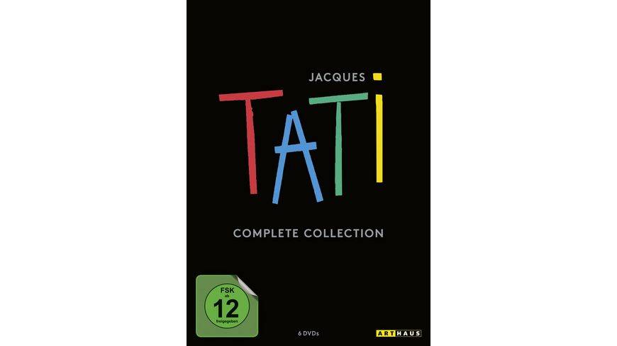 Jacques Tati Complete Collection 6 DVDs