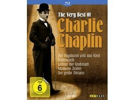 The Very Best of Charlie Chaplin 5 BRs