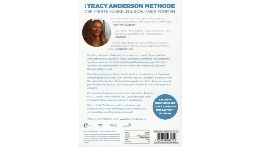 Die Tracy Anderson Methode Dance Cardio Workout