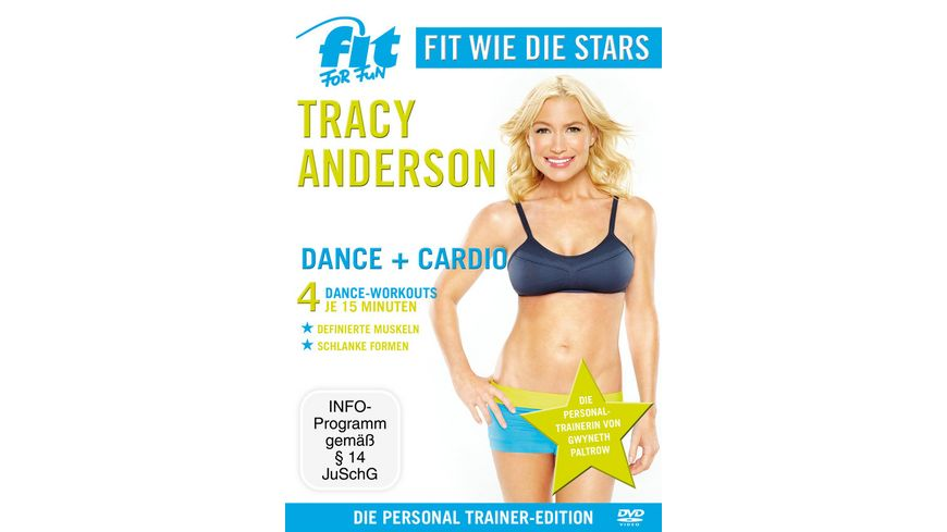 Fit for Fun Fit wie die Stars Tracy Anderson Dance Cardio