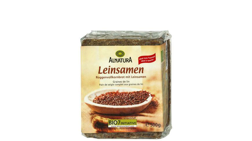 Alnatura Leinsamenbrot