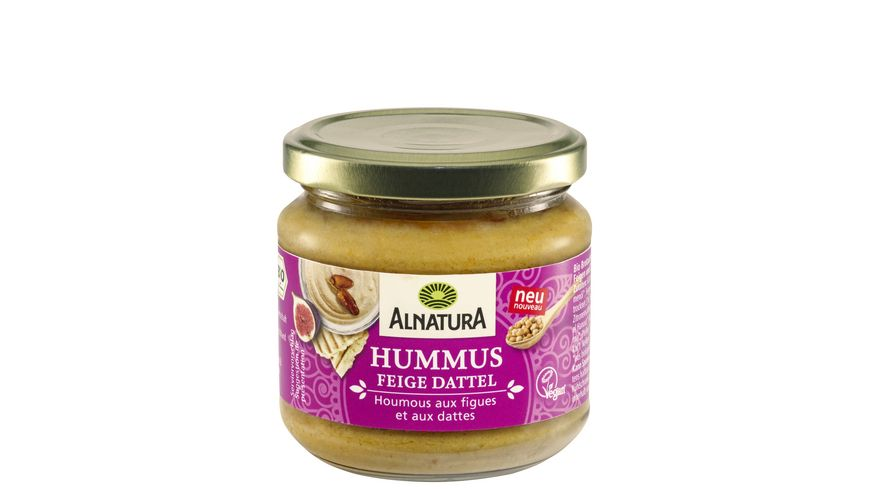 Alnatura Hummus Feige Dattel