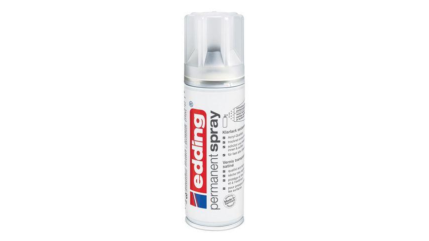 edding Permanent Spray 5200 Klarlack seidenmatt