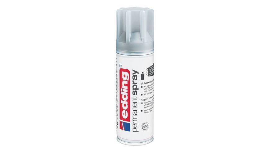 edding Universalgrundierung 5200 Permanent Spray grau