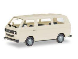 Herpa 13083 Herpa MiniKit VW T3 Bus elfenbein unbedruckt