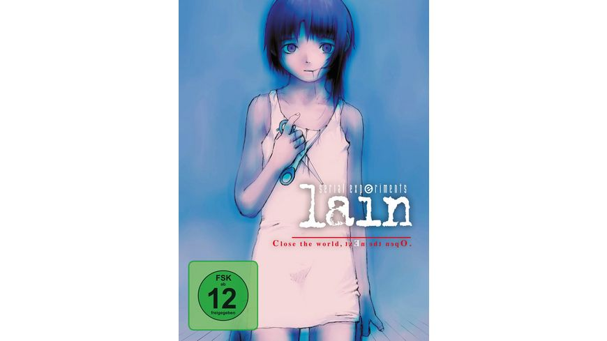 Serial Experiments Lain Gesamtausgabe Collector s Edition 3 DVDs