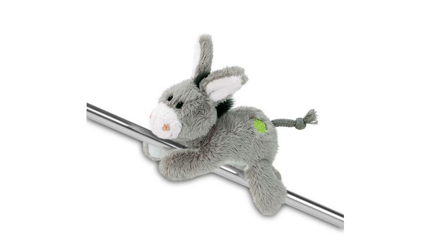 NICI Donkey Addition Magnici Esel M Kleeblatt 12cm