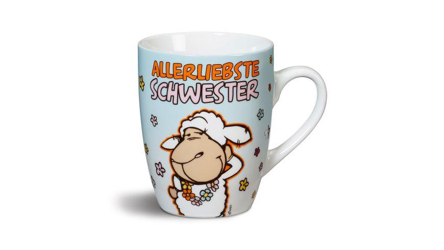 NICI Fancy Mugs 3 16 Tasse Allerliebste Schwester